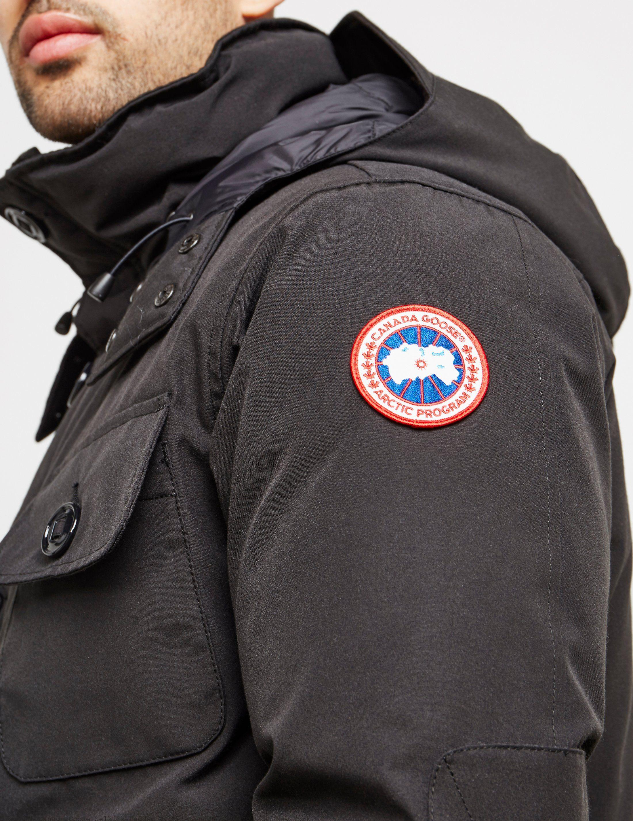 da10a81cb28 Discount Canada Goose Selkirk Padded Jacket Canada Goose Outlet New York